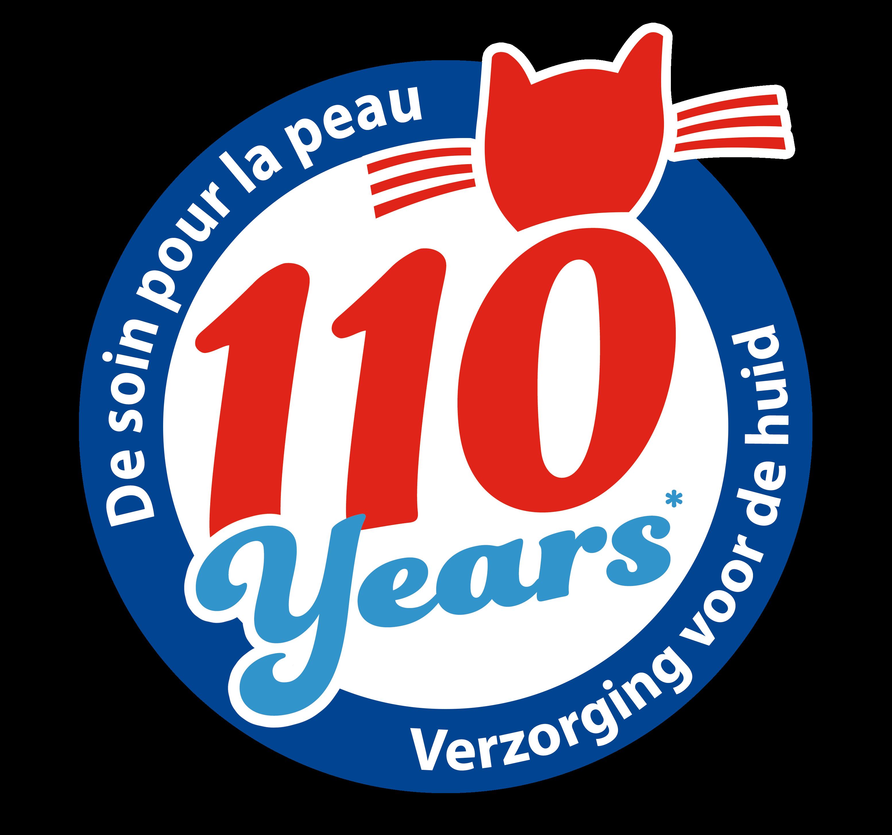 Logo van Le Chat wasmiddel 110 jaar